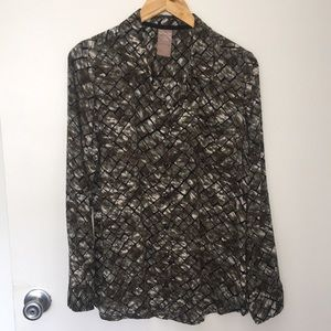 White Stag long sleeves shirt size M (8-10)